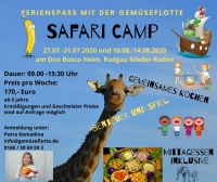 Safari Camp in den Sommerferien 2020